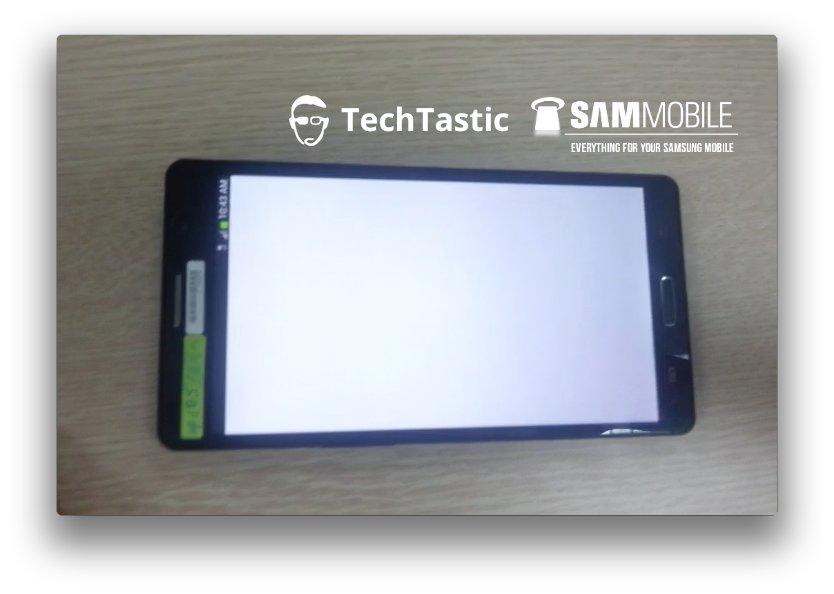 Samsung Galaxy Note 3: Ist das ein Prototyp, der sich hier zeigt?