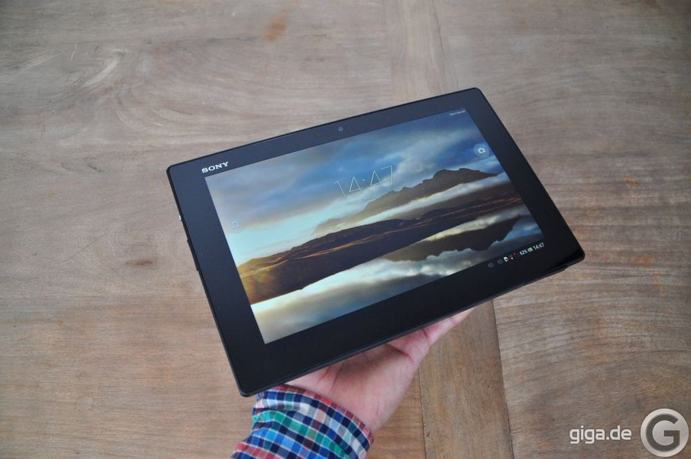 Sony Xperia Tablet Z im Test
