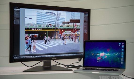 """""""Retina Display"""" von Asus mit Problemen am MacBook Pro"""
