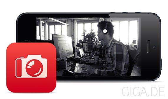 App of the Day: Camera Noir - Schwarz-Weiss-Fotografie mit Monochrom-Filter [Update]