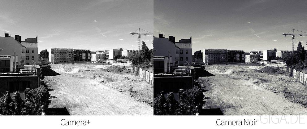 Kamera-Apps im Vergleich: Camera+ vs. Camera Noir