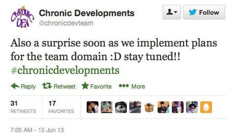 Chronic Tweet