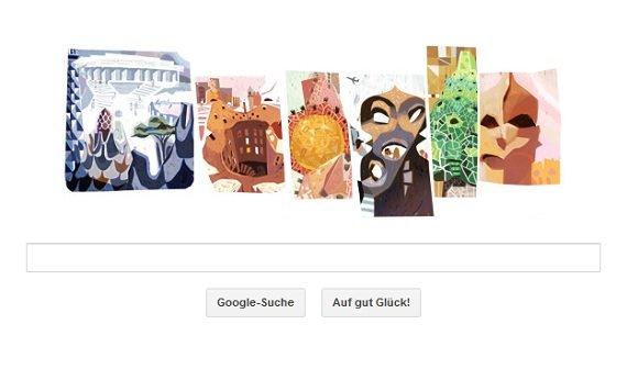 Google Doodle für Antoni Gaudí: Olé, wir feiern den Architekt von Barcelona