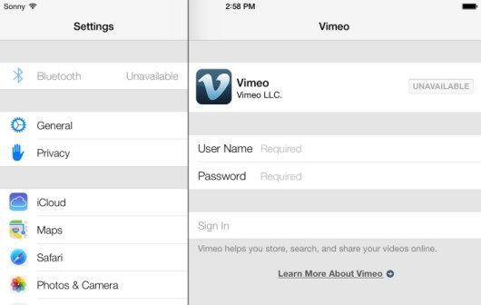iOS 7: Neue Screenshots von iOS 7 auf dem iPad