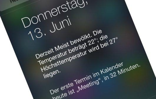 iOS 7: Das ist die neue Mitteilungszentrale