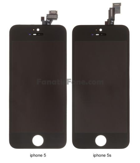 Touchscreen-Modul: iPhone 5 vs iPhone 5S