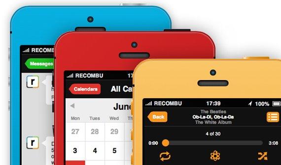 iPhone 5S mit iOS 7: Interaktive Konzeptstudie