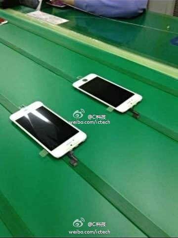 Touchscreen-Module des iPhone 5S in Massenfertigung