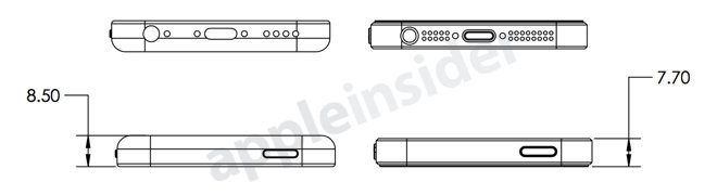 """Blaupausen für """"iPhone Light"""" und """"iPhone 5S"""""""