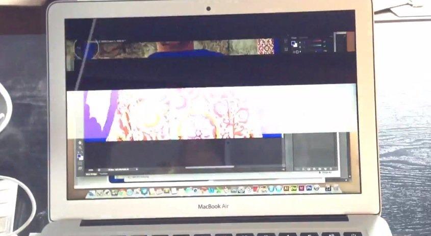 MacBook Air 2013: OS X 10.8.5 soll Display-Flackern in Photoshop beheben