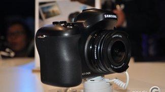 Samsung Galaxy NX im ersten kurzen Hands-On