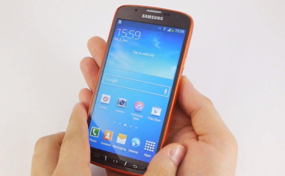 Samsung Galaxy S4 active: Hands-On-Video zum Outdoor-Smartphone