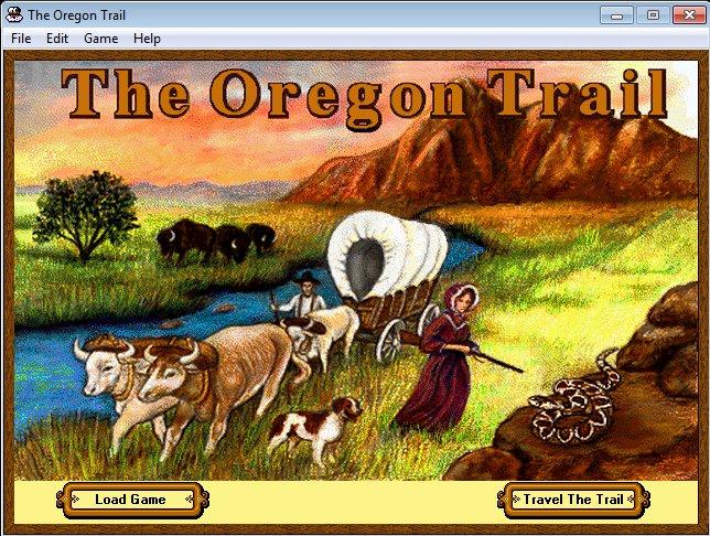 The Oregon Trail (for Windows 3.1/95 & Macintosh)