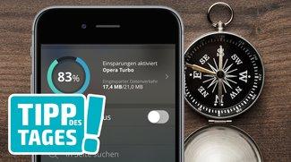 iPhone: Datenverbrauch im Ausland reduzieren (5 Tipps)