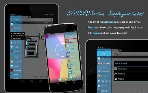 Swapps: Sidebar-Launcher heute als App des Tages