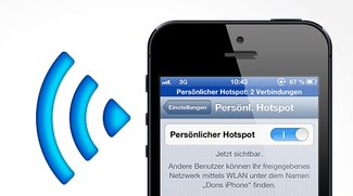 Tethering am iPhone: WLAN-Hotspot einrichten (Anleitung)