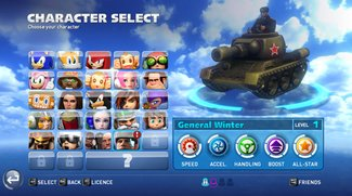 Sonic & All-Stars Racing Transformed: Bekommt neuen Charakter aus Company of Heroes