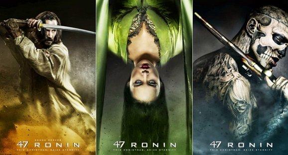 Erster 47 Ronin Trailer: Keanu Reeves versucht's mit Langhaarfrisur und Katana