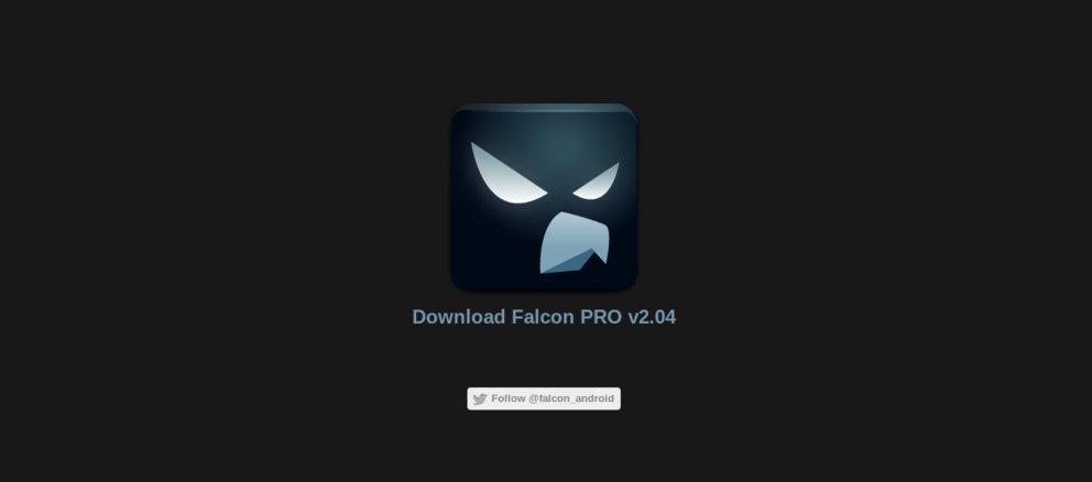 Falcon Pro: Twitter-Token-Limit mit Update waghalsig umgangen
