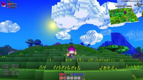 Cube World Spielwelt