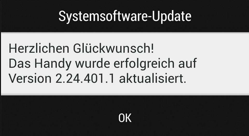 HTC one update