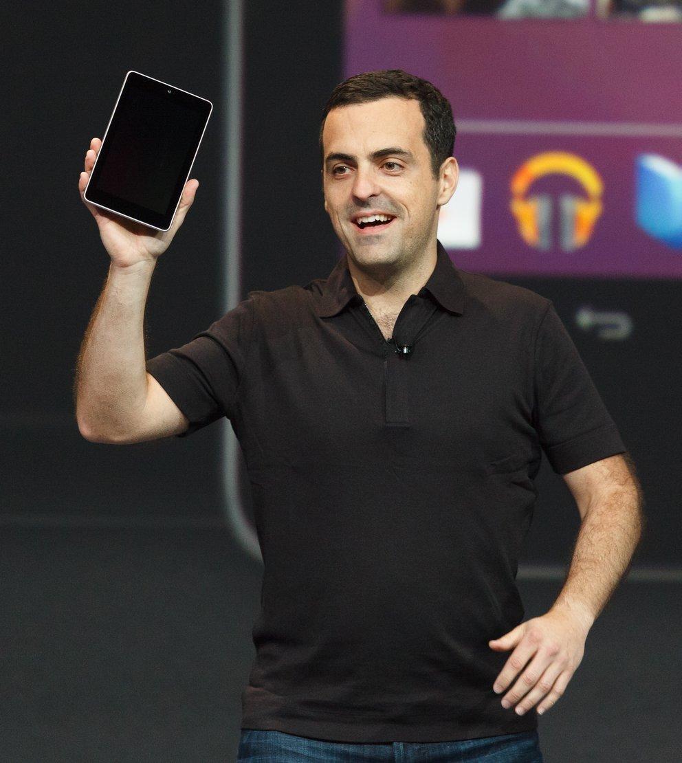 Hugo Barra: Android-Tablets sind nicht so gut, werden aber bald besser