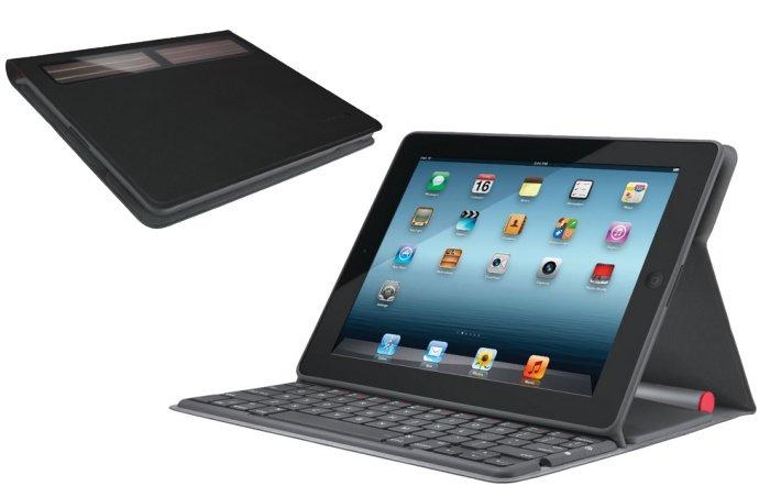 Logitech Bluetooth Solar Tastatur für iPad 2/3/4 zum Preis von 69 Euro