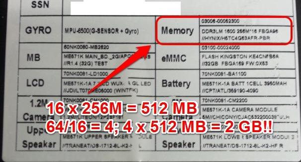 """Nexus 7 2: Doch keine 4 GB RAM, """"nur"""" 2 GB verbaut"""