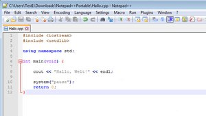 Notepad++ Portable