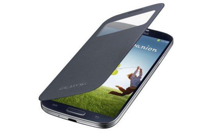 Samsung S-View Cover EF-CI950B für Galaxy S4 für 21,90 Euro