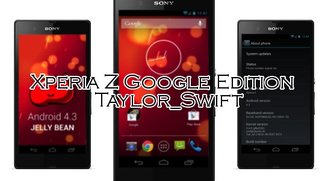 Sony Xperia Z: Google Edition ROM in Arbeit