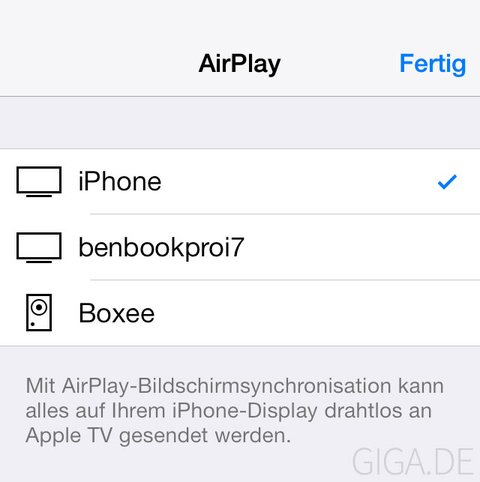 AirPlay Icons