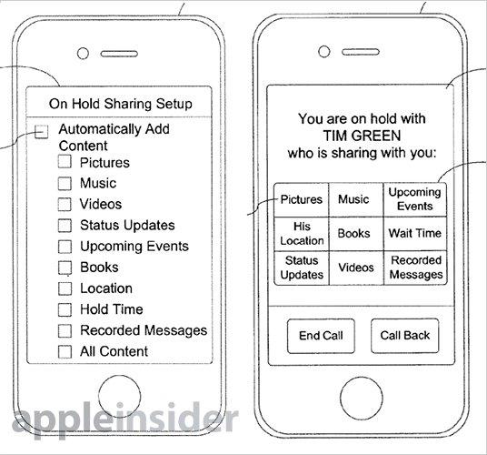Apple-Patent fürs iPhone: Datenzugriff bei Gesprächspausen
