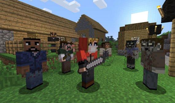 The Walking Dead-Skins für Minecraft Xbox 360 Edition veröffentlicht