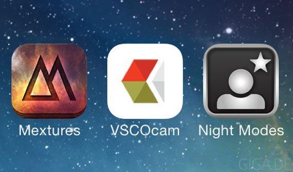 Mextures, VSCO Cam & Night Modes: Drei tolle Foto- und Kamera-Apps für den Sommer
