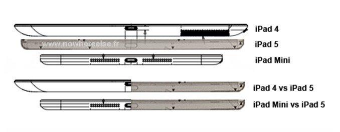 iPad 5 - Konstruktionsplan