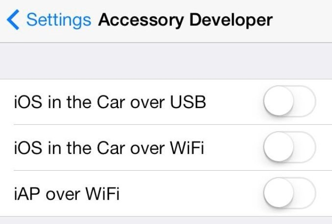 iOS 7 im Auto: Verbindung auch über WiFi möglich