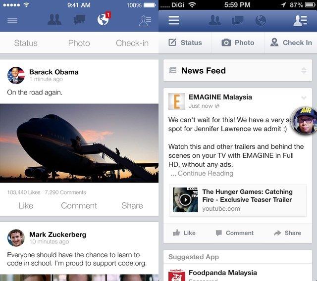iOS 7: So könnten bekannte Apps in Zukunft aussehen