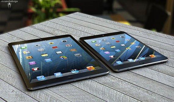 iPad 5 soll dünner werden - iPad mini 2 absichtlich ohne Retina Display?
