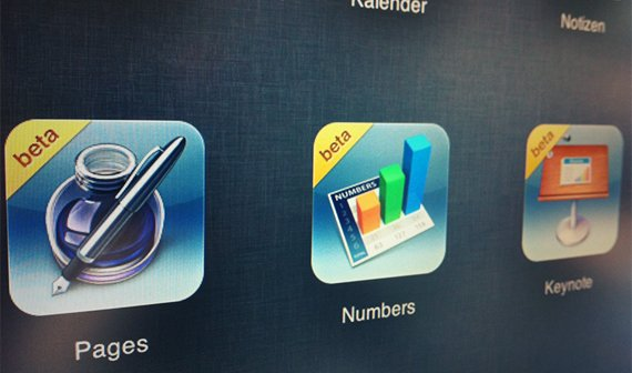 iWork für iCloud: Pages, Keynote, Numbers im Beta-Test