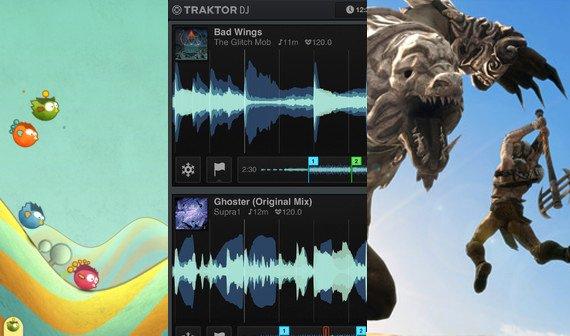 Kostenlose Apps zum Geburtstag: Tiny Wings, Infinity Blade 2, Badland und mehr (Update)