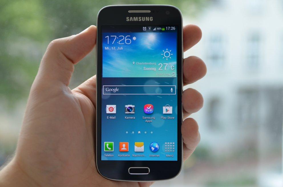 Samsung Galaxy S4 mini im Test: Flaggschiff in der Buddel
