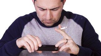 Vier Tage ohne Apps: Wie vier Stunden ohne Zigarette (Infografik)