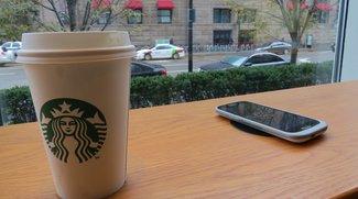 Starbucks: Filialen in Silicon Valley bald mit Wireless Charging