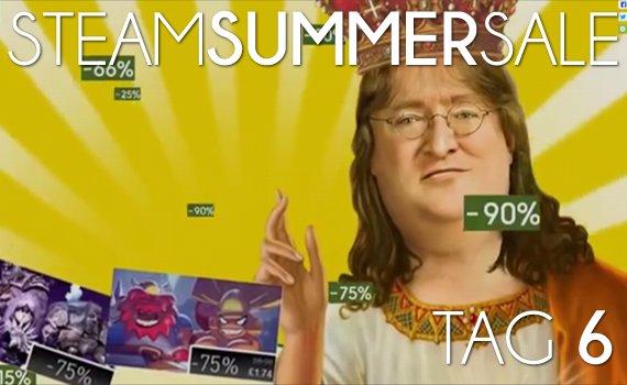 Steam Summer Sale 2013: Tag 6 und kein Feature des Tages für Deutschland