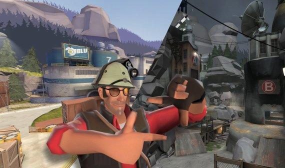 Team Fortress 2: Update bringt zwei neue Maps