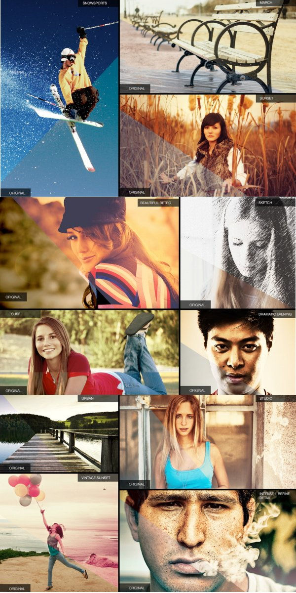 188 Gorgeous Photoshop Actions Ultimate Bundle Beispiele