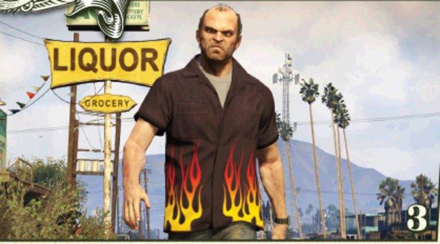 GTA 5: 3D-Karte von Los Santos entworfen