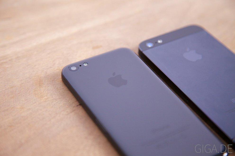 iPhone 5C Dummy vs iPhone 5