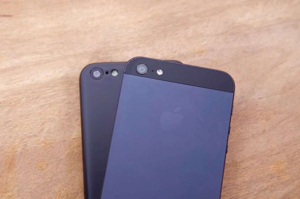 iPhone 5C Dummy vs iPhone 5 - Kamera